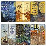 Magnifique Dieu magnifique Bible Verses Favoris (12 Pack) - Van Gogh pour Hommes Femmes - Cartes de...
