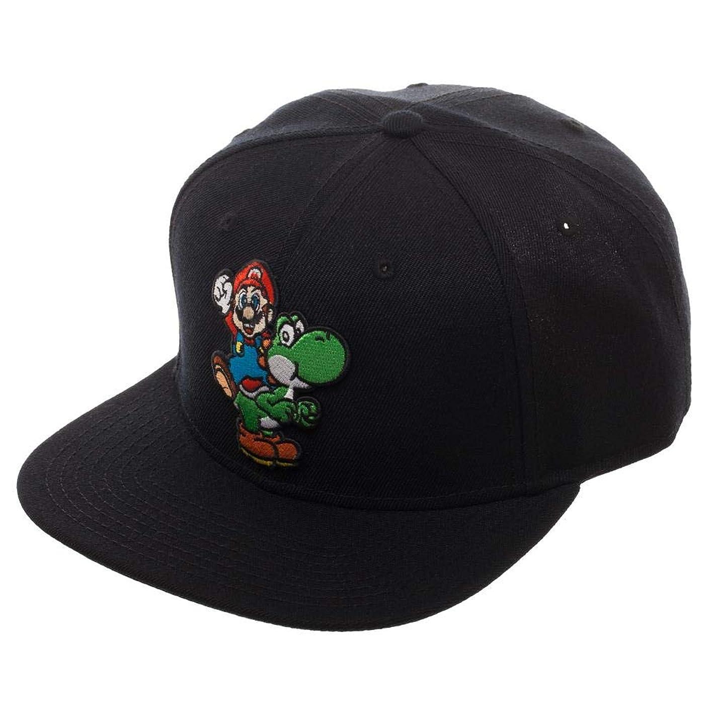 Nintendo Super Mario Bros. Mario and Yoshi Snapback Hat