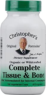 Dr. Christophers Formulas Complete Tissue and Bone 100 X 3