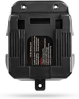 QUPER- 4 x Battery Holder Suitable for DEWALT DCB182 DCB183 DCB184 DCB185 and Milwaukee m18 Batteries.