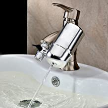 Faucet Water Purifier For Kitchen & Bath Fixtures , ABS Drinking Filtration System , 360-Degree Tap Water Purifier , Filte...