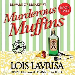 Murderous Muffins audiobook cover art