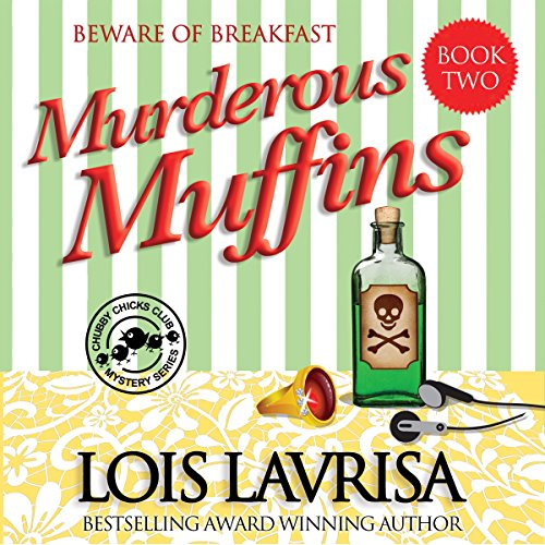 Murderous Muffins audiobook cover art