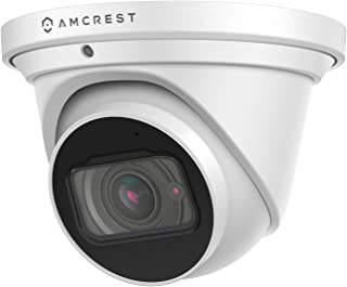 Amcrest 4K Optical Zoom IP Camera, Motorized Lens, 8MP Outdoor POE Camera Dome, 4X Optical Zoom Security Camera Turret, 2....