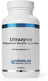 Douglas Laboratories - Ultrazyme (A Polyphasic Enzyme Complex) - Comprehensive Digestive Enzyme Formula - 180 Tablets