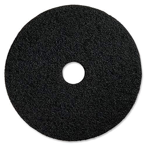 Black Floor Stripping Cleaning Pad, 5 - Genuine Joe 90214