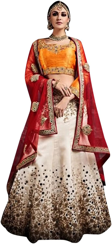 Bridal Bollywood Women Collection Lehenga Choli Dupatta Ceremony Wedding Punjabi 621