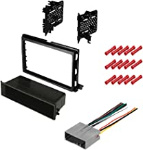 CACHÉ KIT363 Bundle with Complete Car Stereo Installation Kit Compatible with 2004-2008 Ford F-150 - in Dash Mounting Kit, OEM Harness for Single or Double Din Radio Receiver (3 Item)
