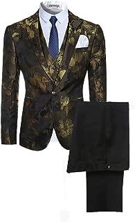 Best 3 piece suit with lapel vest Reviews