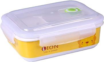 YUMEIGE lunchbox Office-werknemers brengen lunchboxen, Bento-dozen, gecompartimenteerde keramische kommen met deksels, mag...