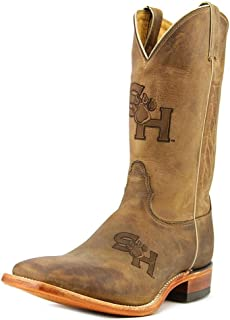 Nocona MDSHSU12 Mens Sam Houston State Brown Cowhide College Boots