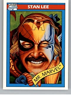 1990 Impel Marvel Universe NonSport Trading Card #161 Stan Lee