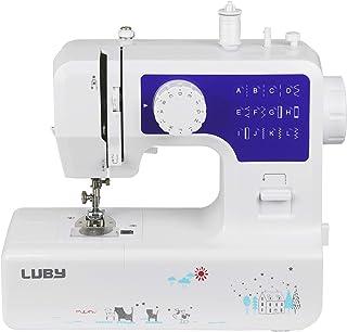 Luby Máquina de coser para principiantes con 12 puntadas y