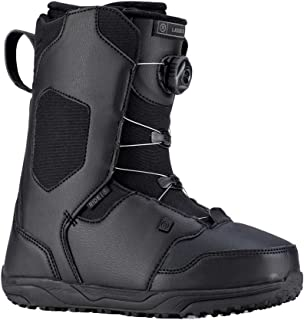 Ride Kids' Lasso Jr Snowboard Boots - Black - 4