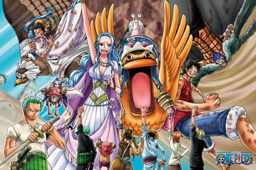 (1000 Pieces) One Piece - Desert Kingdom of Alabasta (50Ã_5cm) Jigsaw Puzzle (japan import)