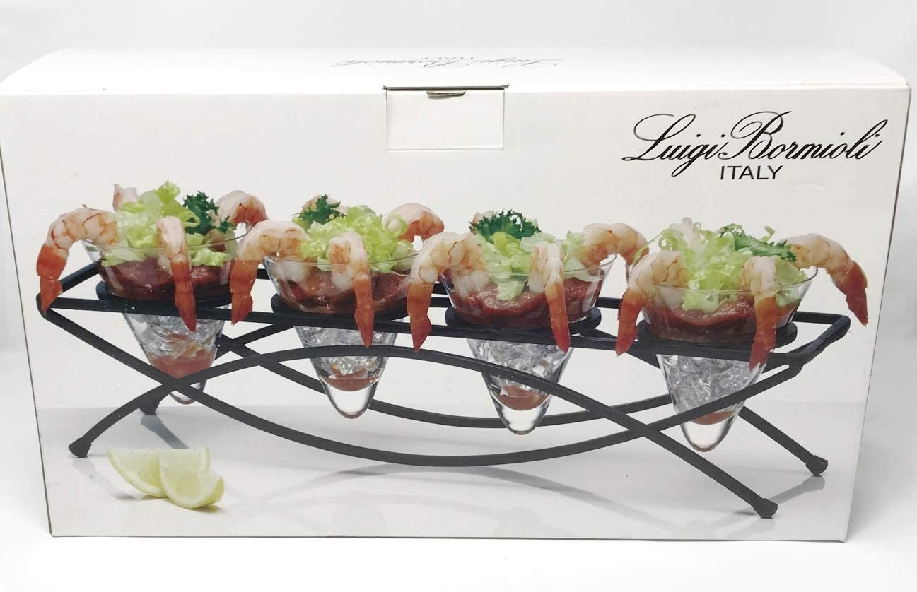 Luigi Bormioli 2021 autumn Max 62% OFF and winter new Italian Martini Cocktail Carrier Set 5 Glass