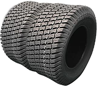 Set Of 2 LRC 24x12.00-12 Turf Tires 24x12-12 Tubeless Turf Bias Load Range C Tires 24/12-12 For Garden Lawn Mower Tractor Golf Cart tires 24x12-12 P322 6PR