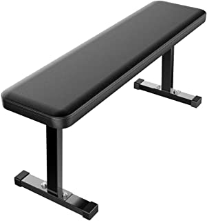 Yaheetech Olympic/Flat/Workout/Standard Weight Bench - Portable Home/Gym Fitness Weight Lifting Bench Utility Weight Bench Black
