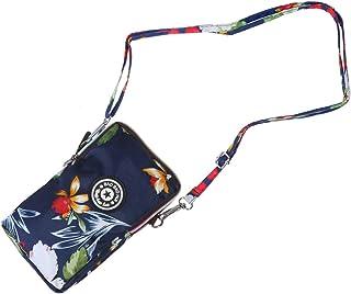 FENICAL 1 unid con cremallera bolsa para teléfono soporte para teléfono cuello bolsas colgantes bolso de moda bolso para t...
