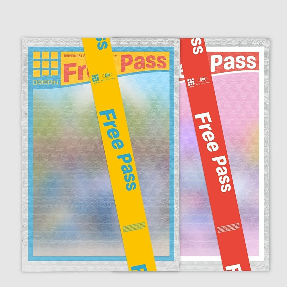 Drippin Free Pass 1st Single Album CD+64p Super sale period limited Booklet+ 2 Version Nashville-Davidson Mall Set