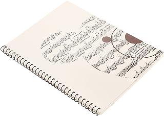 Homyl Musical Notation Staff Notes Book Notepad Music Manuscript Writing Paper - #4, 26x19cm