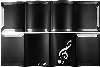 MOREYES Sheet Music Folder Holder Binder for Piano Performance US Letter 4 Pages