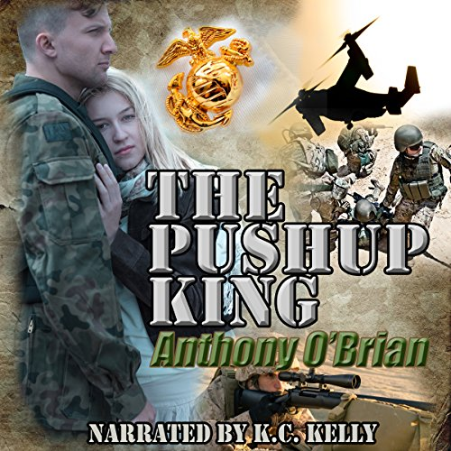 The Pushup King audiobook cover art