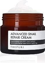 THEPURI Advanced Snail Repair Cream 3.17 fl. oz. (90g) - Anti-Aging Deep Moisturizing Whitening Skin Care / 92% Snail Mucin Extract Facial Moisturizer