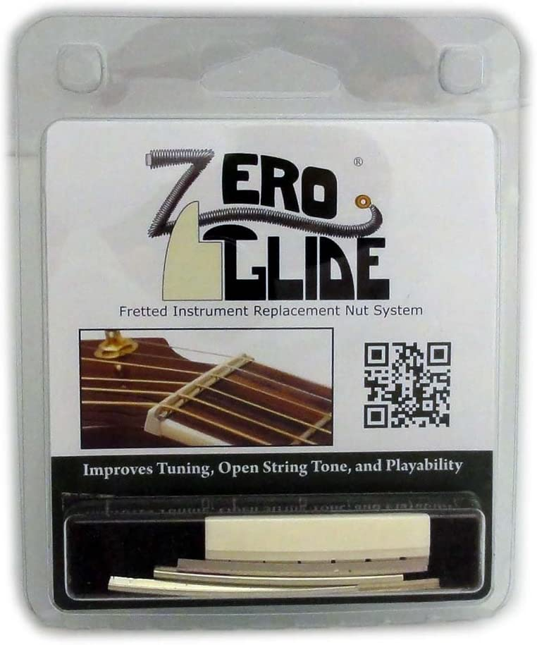 Zero Glide Slotted ZS-5 Our shop OFFers the best service Guitar Nut Max 41% OFF Acoustic System