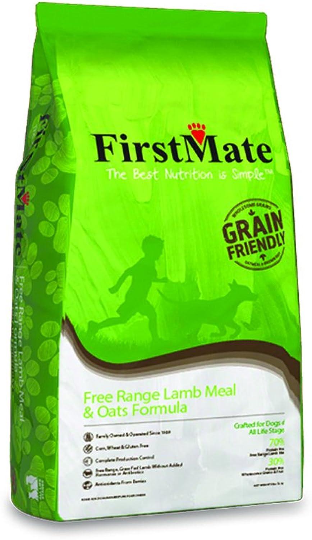 FirstMate Free Range Lamb & Oats Dog Food (25lb)