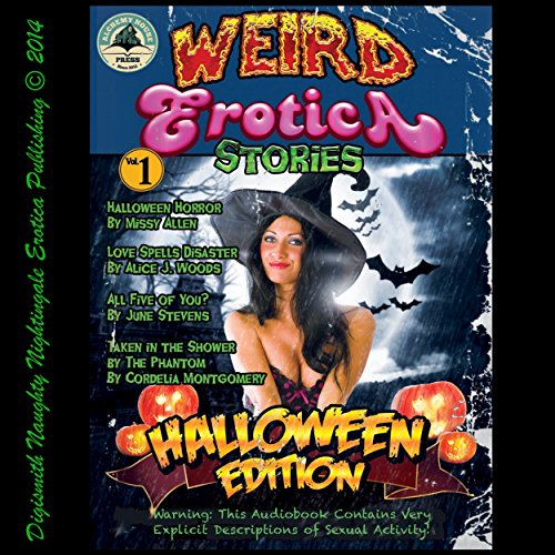 Weird Erotica Stories Halloween Edition audiobook cover art