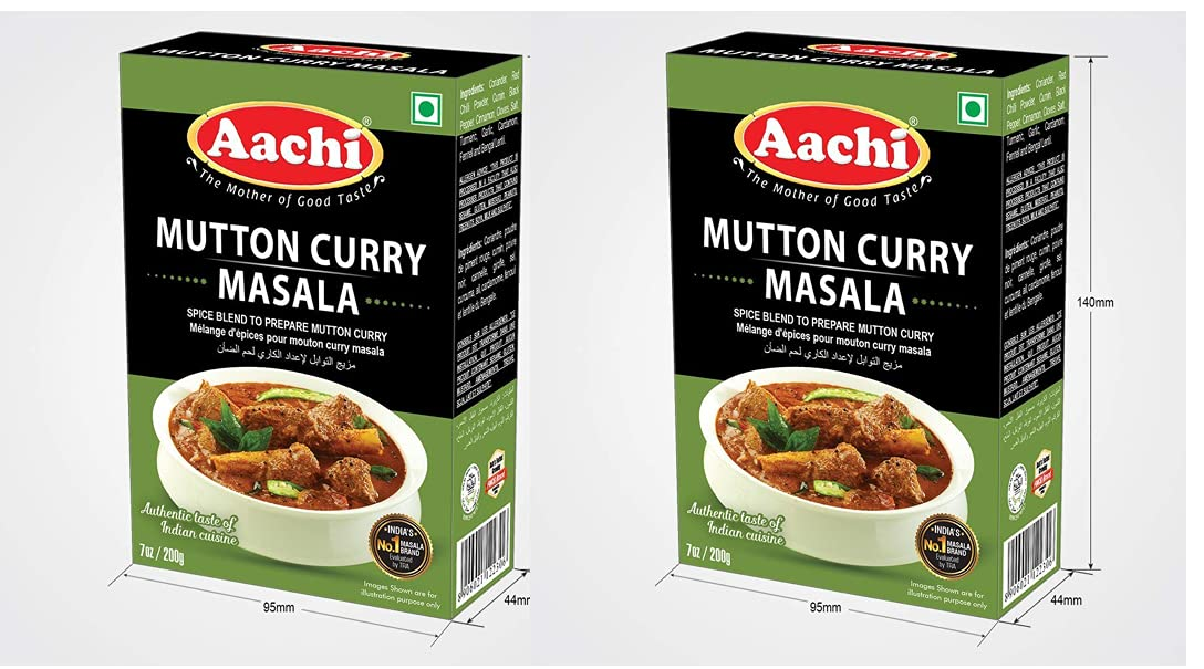 AACHI Mutton Curry Masala 200 GMS Under blast sales 2 G - -TWIN SALENEW very popular! OF PACK
