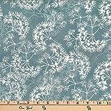 Hoffman 0668248 Bali Batik Dandelion Gray Fabric Stoff,