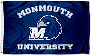 Monmouth Hawks Large 3x5 College Flag
