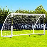 Forza Match Standard 8' x 4' Professional Soccer Goal and Net - Portable