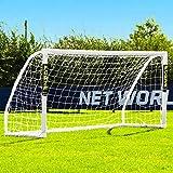 FORZA Match Portería de Fútbol de PVC Impermeable (2,4m x 1,2m)