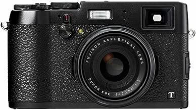 Fujifilm FinePix X100T Camera Black 16.3MP 3.0LCD FHD 23mm Wide Lens WiFi
