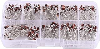 Akozon Kit de diodo rectificador Regulación de voltaje 1W 200pcs 10Values Zener Diode Surtido Kit electrónico 1N4738~1N4748 con caja de almacenamiento