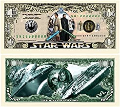 Limited Edition Star Wars Collectible Million Dollar Bill in Currency Holder