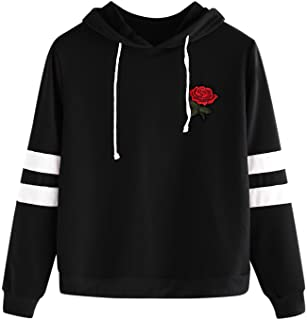 black hoodie embroidered