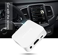Mirascreen X7 Car WiFi Display Box, Airplay DLNA Miracast Screen Mirroring from Smart Phones to Car Screen Wirelessly, with HDMI and RCA (CVBS) Output GPS Navigation
