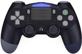 【2020令和最新版】 PS4 コントローラー Chayoo 無線 Bluetooth接続 PS4 ゲームパッド 最新版システム対応 HD振動/重力感応 6軸機能 /タッチパッド機能搭載/イヤホンジャックスピーカー 人間工学 ゲームパット 高耐...