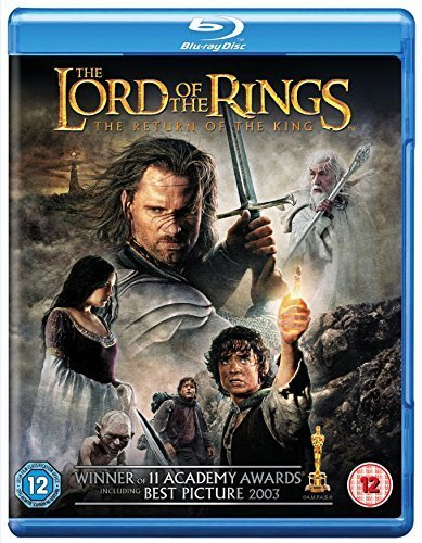The Lord Of The Rings: The Return Of The King [Blu-ray] [2003] [2015] [Region Free]