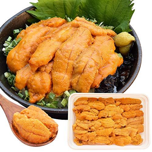 うに 100g×1 天然冷凍生ウニ 刺身雲丹 ミョウバン不使用 無添加 最高級グレードの雲丹 海鮮丼