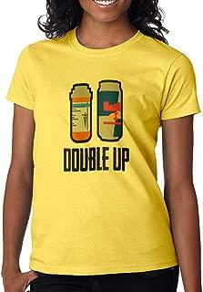DanielDavis Gamer Fan Double Up Boost Grey Custom Made Women's T-Shirt