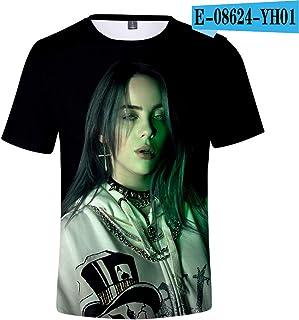 13 styles Hot Sale teenager Billie Eilish 3D t shirt boy/girls Summer New Fashion Short Sleeve Top&Tee Comfort kids T Shirt Billie Eilish Casual top men/women