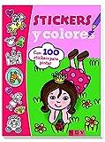 Princesas. Stikers y colores (Stickers y colores)