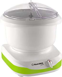 NutriMill Artiste Kitchen Stand Mixer (Lime Green Trim)