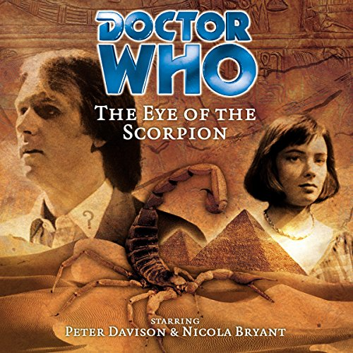 Doctor Who - The Eye of the Scorpion cover art