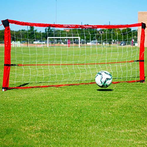 Soccer Innovations Sling Shot Training Rebounder, 3-Foot by 8-Foot, Red